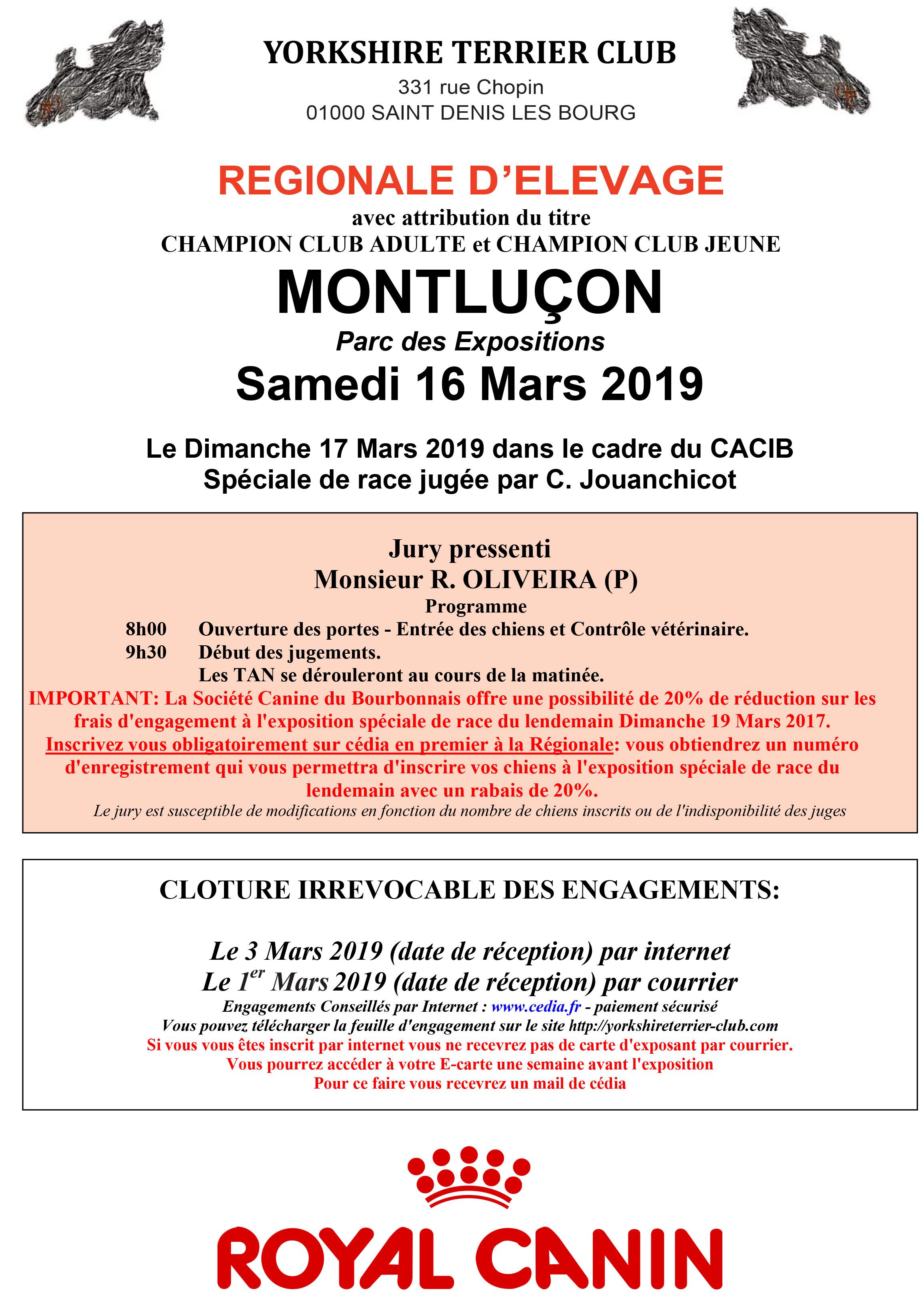 Microsoft Word - feuille regionale elevage 2019 montlucon.doc