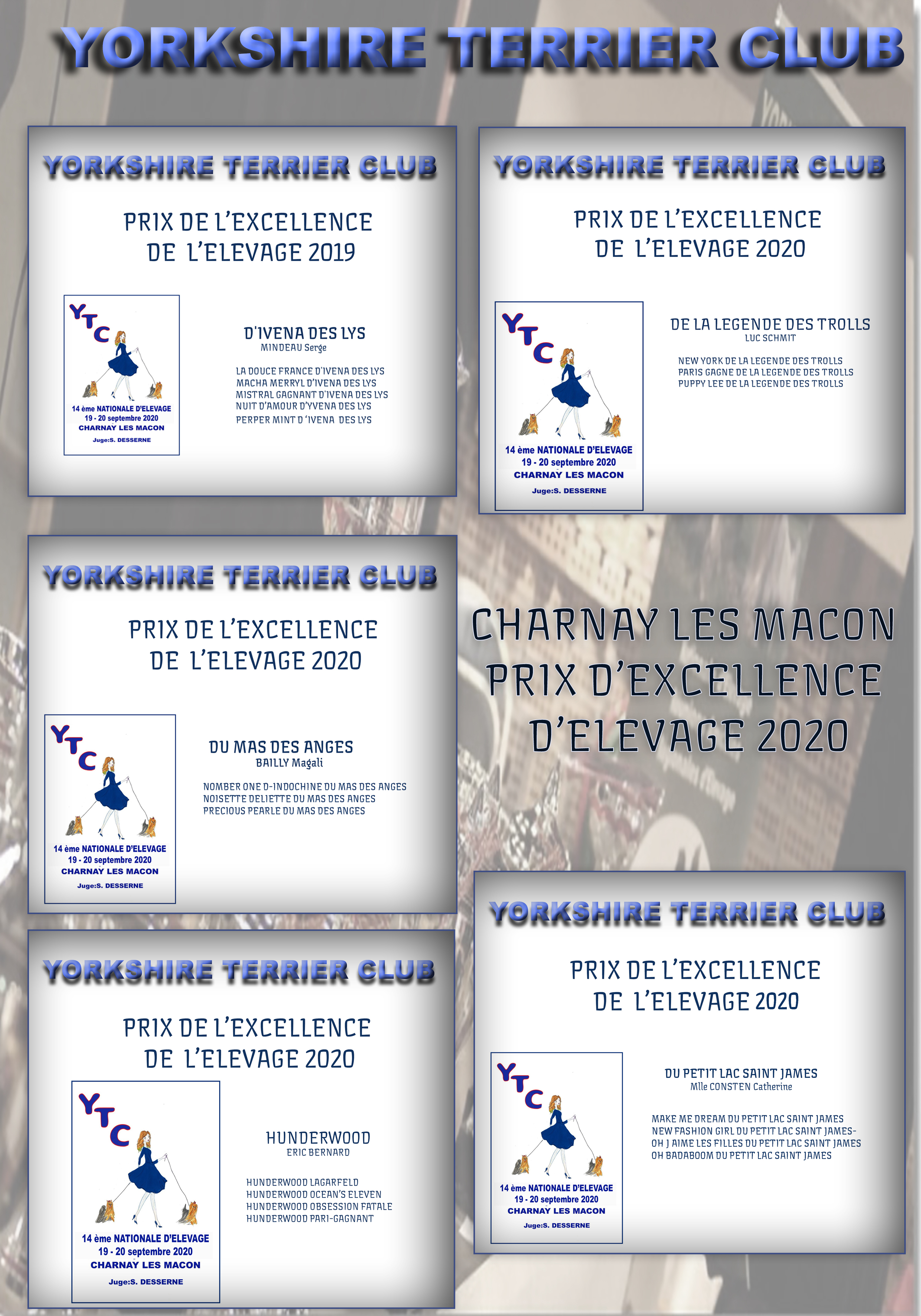PAGE 39 prix excellence elevage
